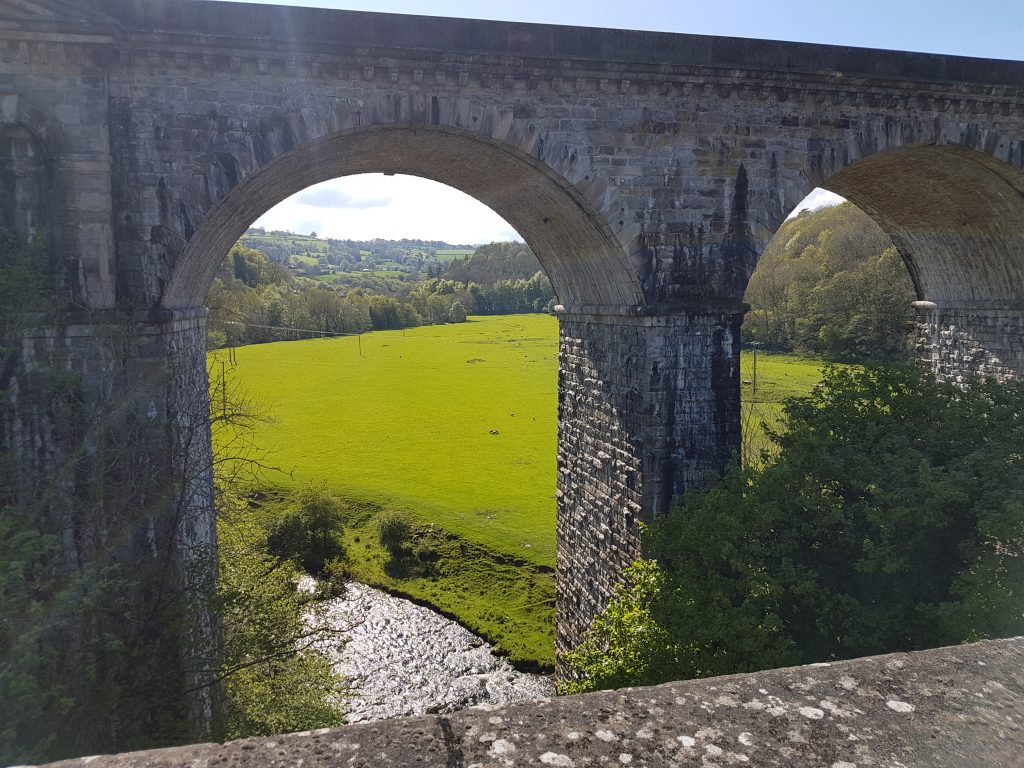 The view from Chirk Aqueduct