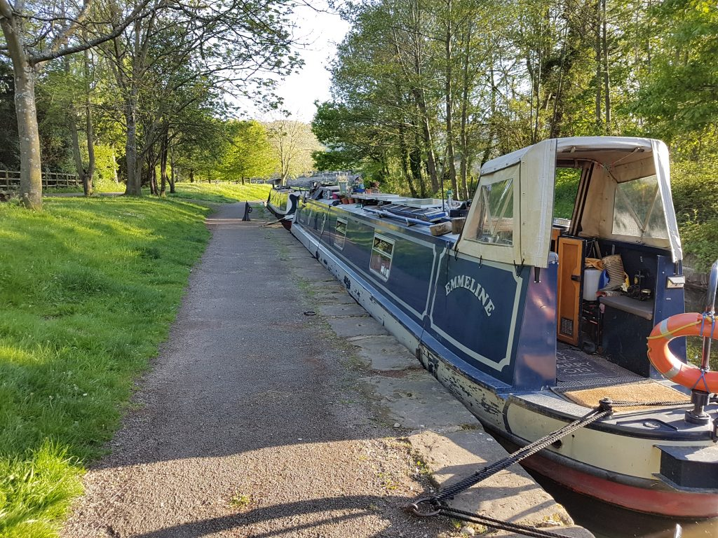 Moored on the Trevor Arm