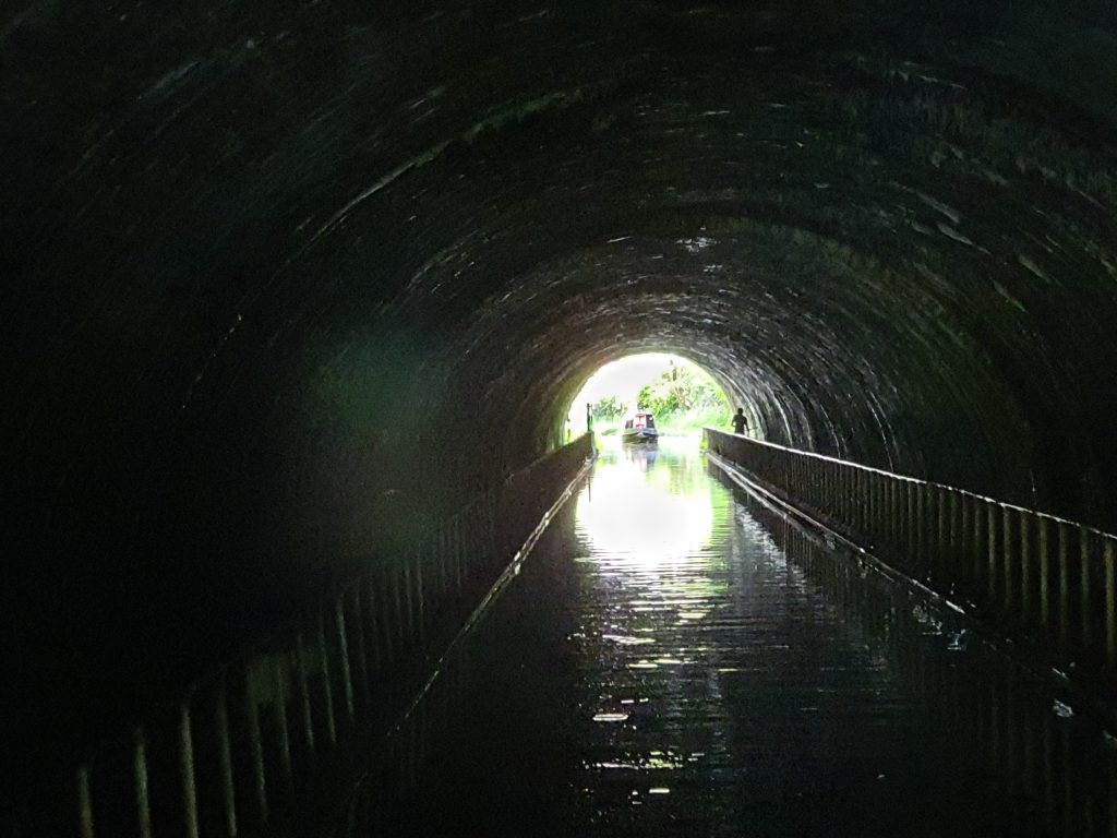View from inside Newbold tunnel
